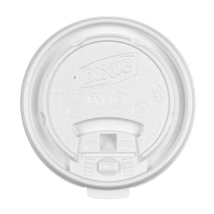 Dixie Tear Tab Lids For 10-18 oz Cups TS1016 , 1000/case