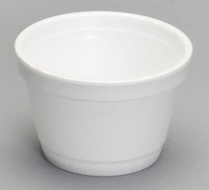 Foam Container  3.5oz   1000/cs