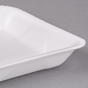 "Foam 24D Tray White 13.5"" x 8"" x 1.5"" -250/Case"