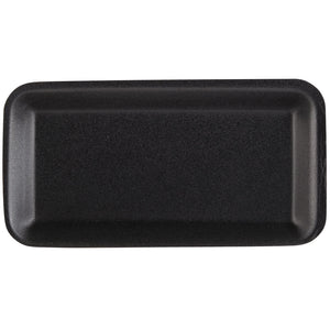 "Foam 5s Tray Black 10 1/4"" x 5 1/4"" x 1/2"" - 500/Pack"