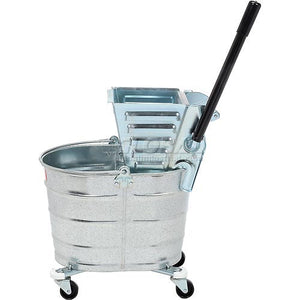 Metal Squeeze Wringer/26-Qt. Metal Bucket  (Sold Seprately)