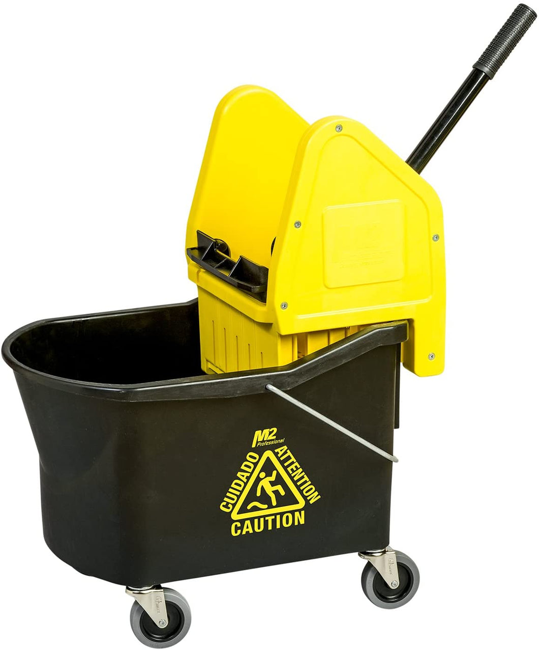 Grizzly Mop Bucket with Down-Press Wringer    32 qt
