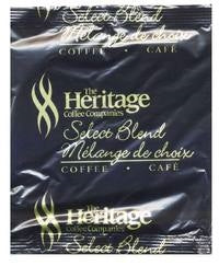 Heritage 4 Cup Coffee. 200 per case. Available in Regular & Decaf