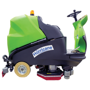 "Hurricane 900 XTT 28""  Ride-On Scrubber"