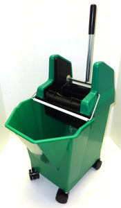 Lady Bug Mop Bucket Combo Green