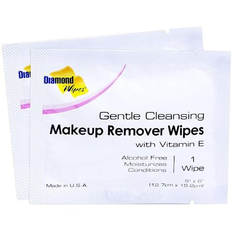 Diamond Wipes Makeup Remover    500/cs