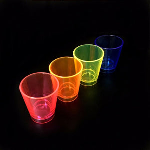 Neon Shot Glasses 1oz    50/pkg
