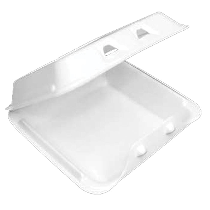 Pactiv YHLW-0801 - Foam Hinged Container  8