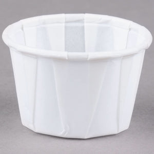 Gen Pak Paper Portion Cups, White   5000/cs