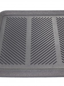 "Rubber Boot Tray   16"" x 32""   Black"