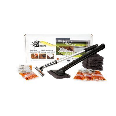 Scotch-Brite™ 710 Quick Clean Griddle Cleaning System Starter Kit
