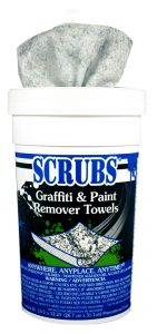 Graffiti & Spray Paint Remover Towels 30/pk