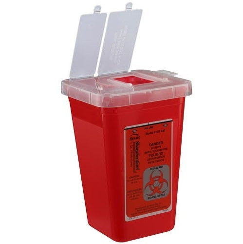 Sharps Container - Red 1 Quart
