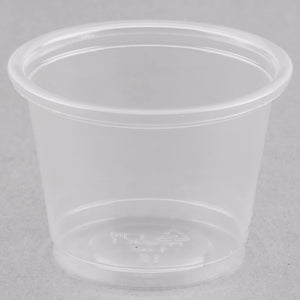 Solo Clear Plastic Souffle Cup / Portion Cup