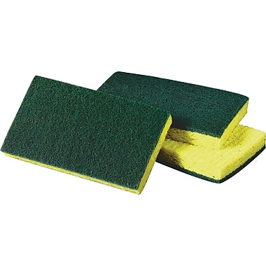 Sponge Green/Yellow 5/pkg