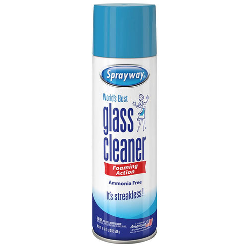 Sprayway Glass Cleaner - Foaming   190z