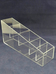"Straw Holder -  3"" Wide 5 Compartment"