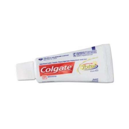 Colgate Total Clean Mint Toothpaste, .75 Oz Tube  24/cs