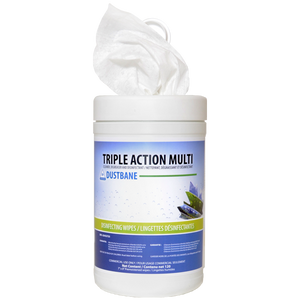 Triple Action Multi Wipes  120/tub