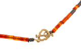 Tiger's Eye Bolt Necklace