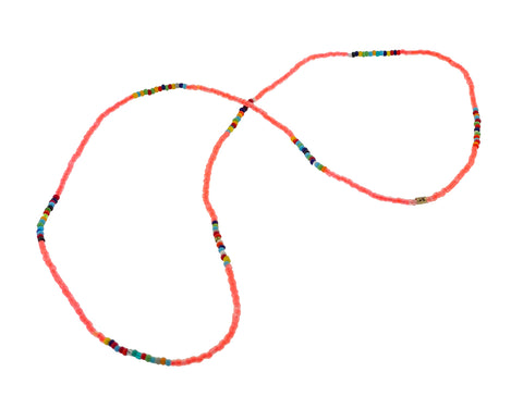Height of Summer Neon Spacer Necklace