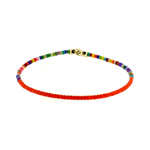 Height of Summer Beaded Bracelet