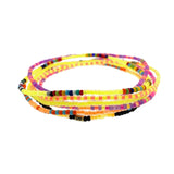 Height of Summer Neon Bracelet Set of Seven