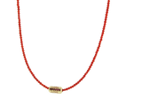 LOVE NECKLACE WITH RUBIES