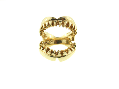 Shark Jaw Ring