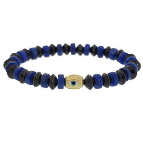 EYE PILL GEMSTONE BRACELET