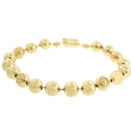 ROUND EYE AND BALL BRACELET