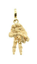 TO THE BONE SHORT HANGING CHARM