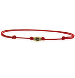 MINI YELLOW GOLD CIRCLE FRIENDSHIP BRACELET