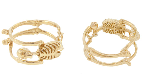 Yellow Gold Skeleton Ring