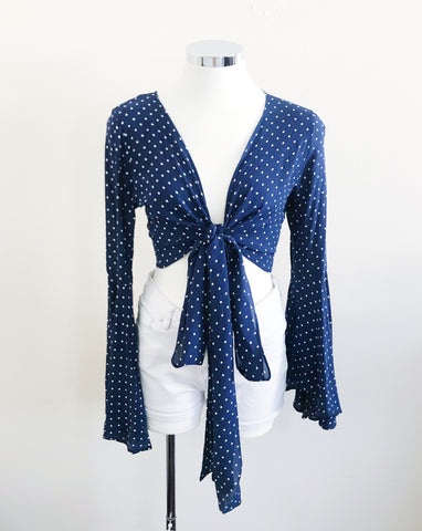 Isabelle Top (Navy Blue)