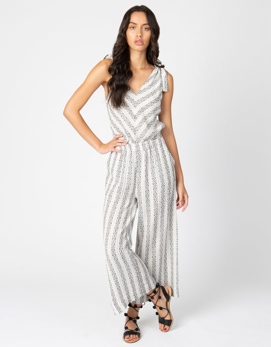 Ikat Crop Jumpsuit - 4our Dreamers