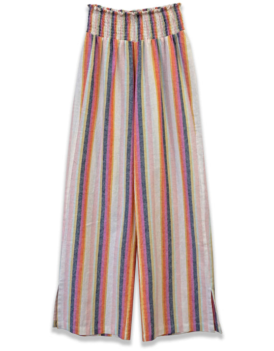 Stripe Ruched Waist Pant - 4our Dreamers