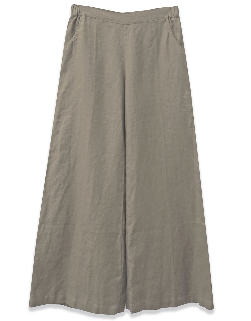Linen Wide Leg Pant | Olive - 4OUR Dreamers