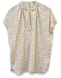 Arrow Print Popover | Ivory - 4OUR Dreamers