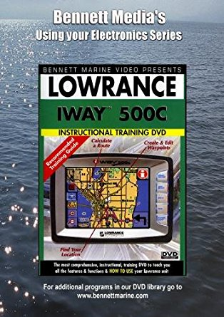 Lowrance Iway 500C (DVD)