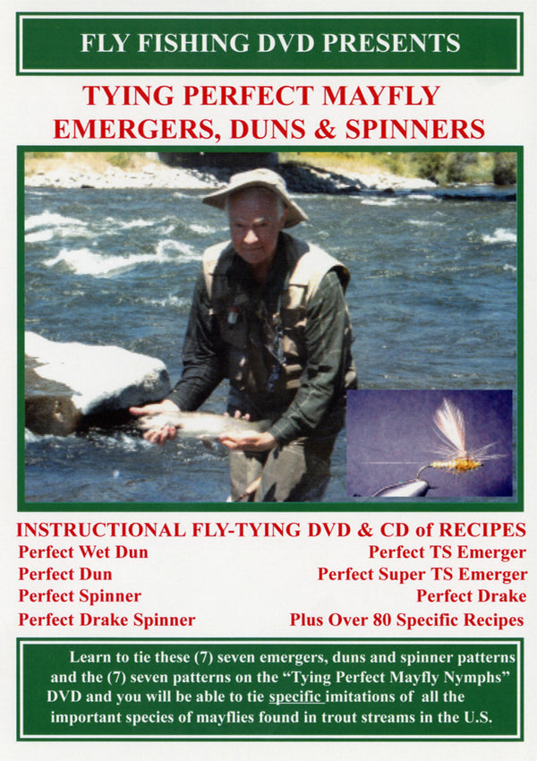 Mayfly Emergers, Duns and Spinners Fly Tying