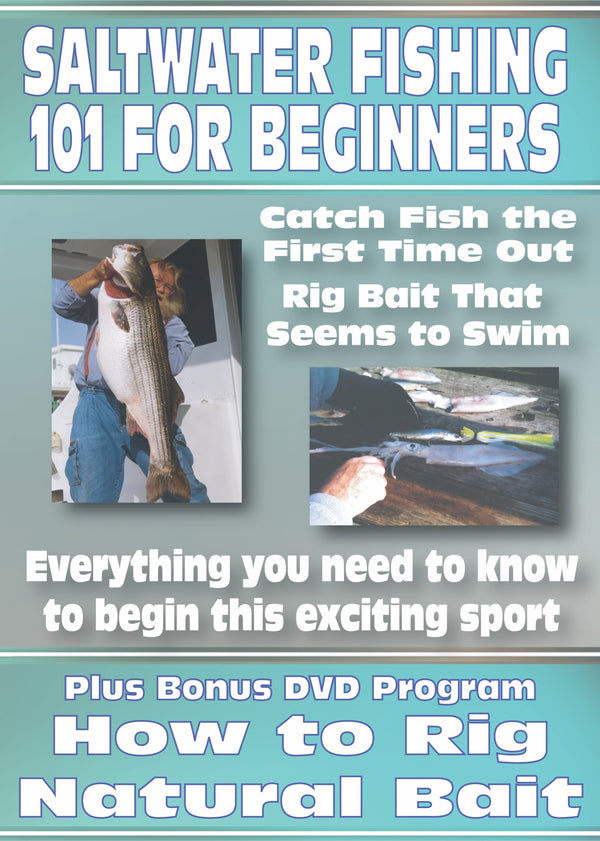 Saltwater Fishing 101 For Beginners/How To Rig Natural Baits