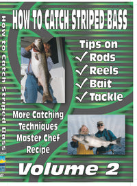 How To Catch Striped Bass Vol 2: Rods, Reels & Tackle
