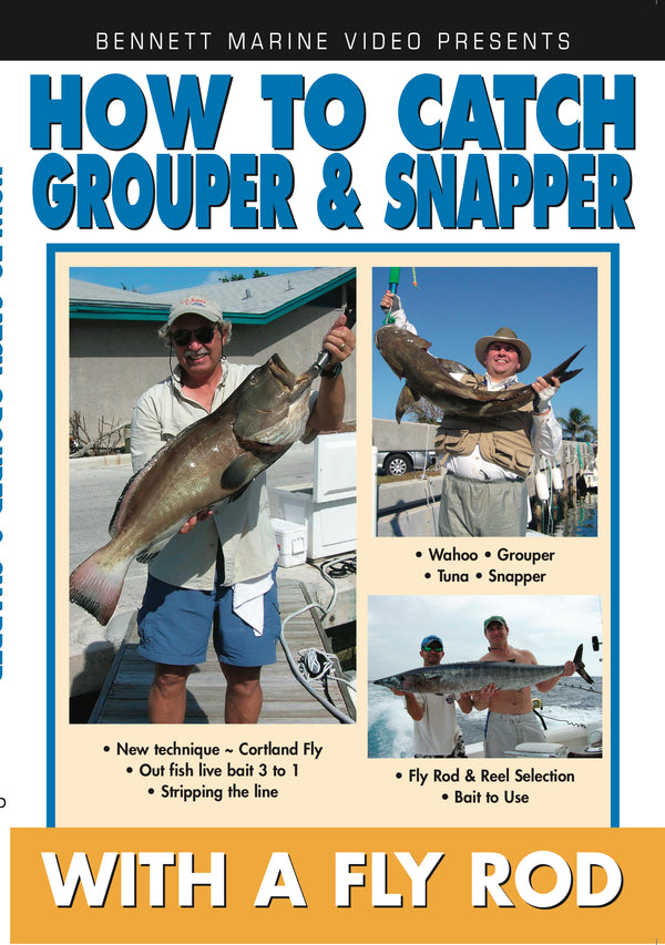 How To Catch Grouper & Snapper On A Fly Rod with Captian Frank Piku