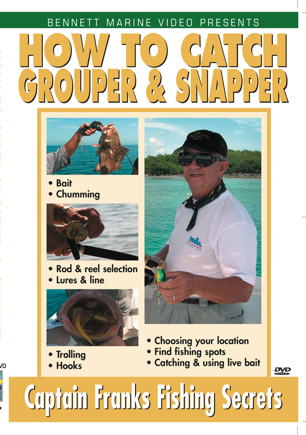 How To Catch Grouper & Snapper with Captain Frank Piku
