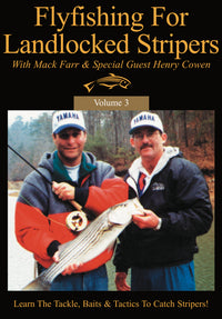Fly Fishing For Landlocked Stripers With Mack Farr