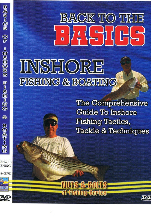 Inshore Fishing & Boating: The Comprehensive Guide To Inshore Fishing Tactics, Tackle & Techniques