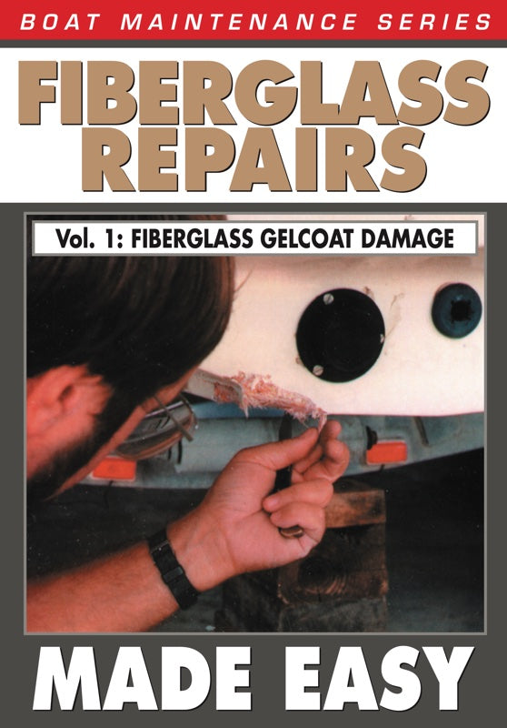 Boat Maintenance Series: Fiberglass Repairs & Gelcoat Damage Made Easy Vol. 1