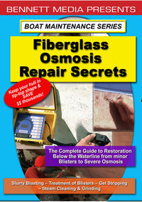 Boat Maintenance Series: Fiberglass Osmosis Repair Secrets