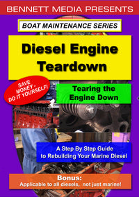 Diesel Engine Teardown: Tearing the Engine Down